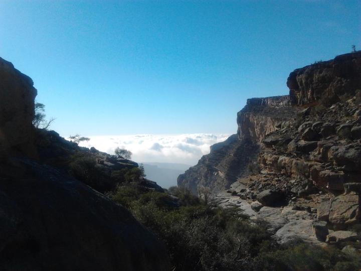 Jebel Shams mountain views