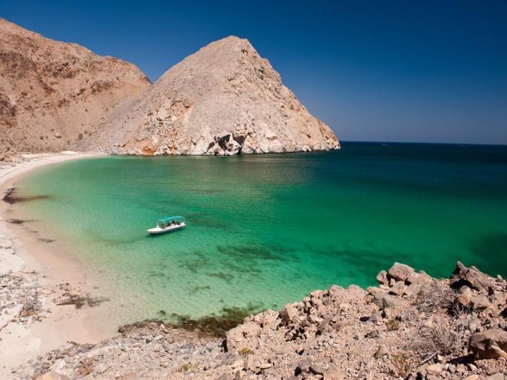 Musandam Oman island