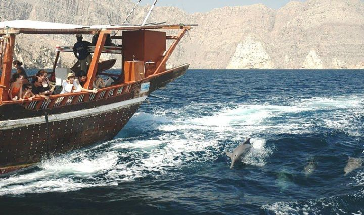 day tour from muscat dhow cruise