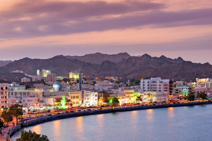 Top places to visit in muscat at night