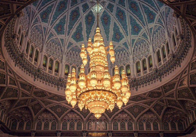 places to visit Sultan Qaboos Grand Mosque in muscat