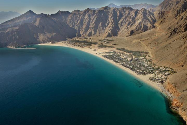 Musandam Oman skyline view